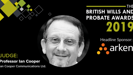 Welcoming Back Professor Ian Cooper To The Judging Awards Panel