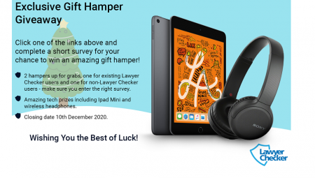 Lawyer Checker Aim to Raise Christmas Spirits and Cyber-Security Awareness with Gift Hamper Giveaway