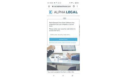 No more blurry ID photos! Alpha Legal checks them for you