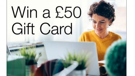 The Gazette offers a £50 gift card prize draw for survey