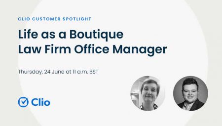 Free Webinar: Life as a Boutique Law Firm Office Manager