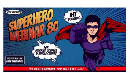 Register for Superhero Webinar 80: Inheritance Tax Planning for Married Couples and Single Clients