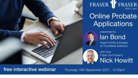 Online Probate Applications – practical tips on avoiding problems with your application
