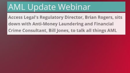 AML update – are you keeping up to date!